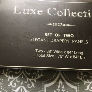 Curtains drapes panels bnwt!